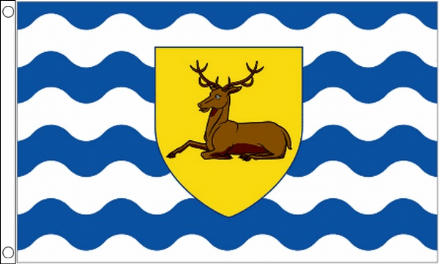 Hertfordshire County Flag 5ft x 3ft